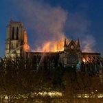 Παναγία των Παρισίων: Βίντεο με ύποπτο άνδρα την ώρα που ξεσπά η φωτιά