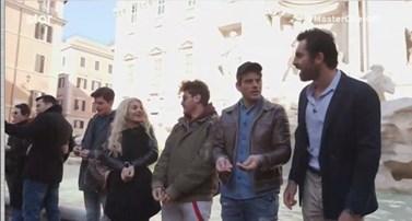 Στη Ρώμη οι παίκτες του MasterChef: Η Ασημίνα αποκάλυψε την ευχή που έκανε στη Φοντάνα ντι Τρέβι