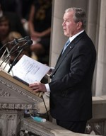 Ο George Bush πάντρεψε την κόρη του Barbara!