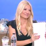 Φαίη Σκορδά: Η on air ερώτηση για τον γάμο της με τον Γιώργο Λιάγκα