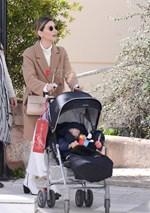 Αθηνά Οικονομάκου: Πρωινή έξοδος με τον γιο της, Μάξιμο!