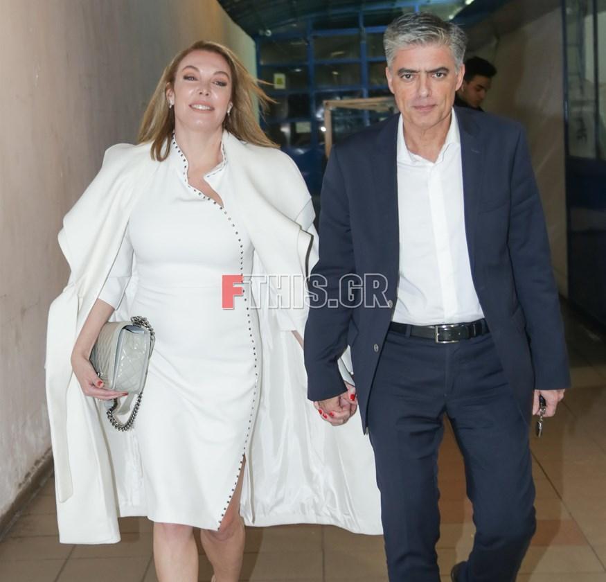 Νίκος Ευαγγελάτος - Τατιάνα Στεφανίδου: Πιασμένοι χεράκι - χεράκι στη νέα τους δημόσια έξοδο