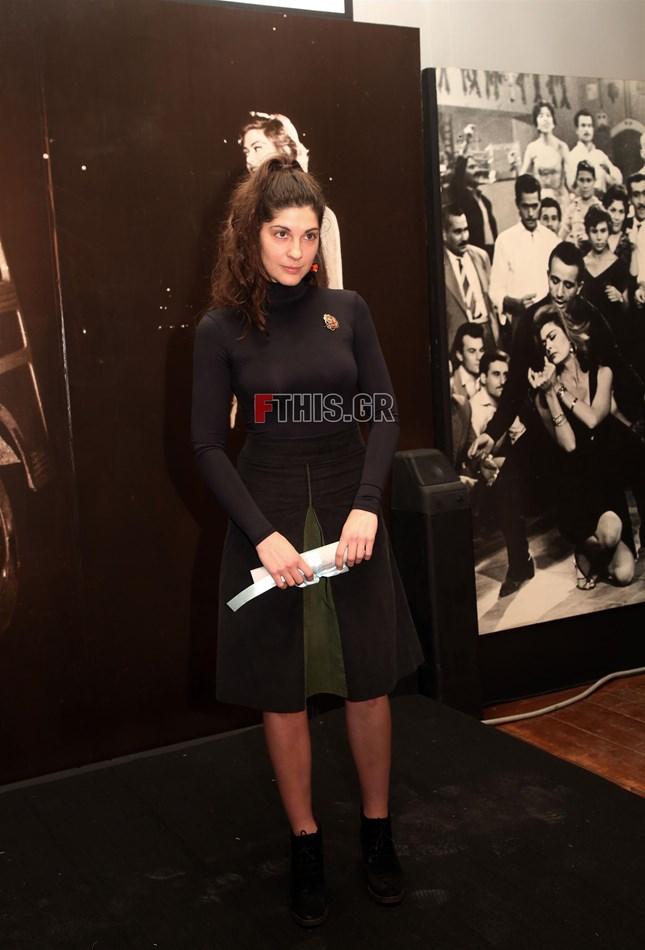 Η Ηρώ Μπέζου τιμήθηκε με το βραβείο Μελίνα Μερκούρη