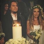 Ευρυδίκη-Μπομπ Κατσιώνης: Δείτε την εντυπωσιακή γαμήλια τούρτα τους