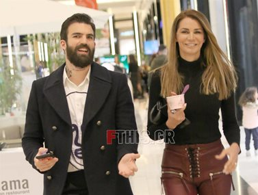 Paparazzi: Ο Δημήτρης Αλεξάνδρου και η Μαρία Καλάβρια σε νέα κοινή εμφάνιση