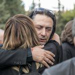 Γιάννης Κότσιρας: Συντετριμμένος στην κηδεία του Λαυρέντη Μαχαιρίτσα