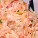 Σαλάτα coleslaw με σπιτική μαγιονέζα από την Αργυρώ