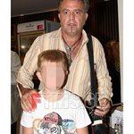 Πασχάλης Τσαρούχας: Δημόσια εμφάνιση με το γιο του, Αχιλλέα
