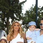 Ηλιάδη - Γκέντσογλου: Ο γιος τους έγινε ενός και του έκαναν πάρτι γενεθλίων δίπλα στην πισίνα! Δείτε φωτογραφίες