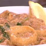 Ρεβυθάδα με χοιρινό από την Αργυρώ Μπαρμπαρίγου