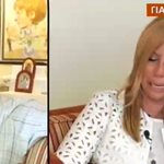 Ζήνα Κουτσελίνη: Βούρκωσε στην εκπομπή της