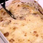 Σνίτσελ κοτόπουλο με πατάτες στο φούρνο και κρέμα τυριού από την Αργυρώ