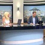 Βασίλης Λεβέντης - Χριστίνα Λαμπίρη: Η τηλεοπτική συνάντηση, το δημοψήφισμα και η πρόβλεψη - VIDEO