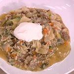 Χειμωνιάτικο λαχανόριζο με κιμά από την Αργυρώ Μπαρμπαρίγου