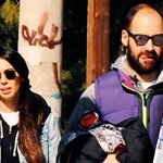 Ολυμπία Χοψονίδου - Βασίλης Σπανούλης: Βόλτα με τα παιδιά τους στη Βουλιαγμένη