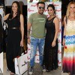 Λαμπερές καλεσμένες σε εκδήλωση μόδας στην Γλυφάδα