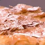 Μπουγάτσα με μέλι και μυζήθρα από την Αργυρώ Μπαρμπαρίγου