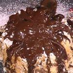 Λαχαριστό μιλφέιγ με τραγανή κρούστα και σοκολάτα