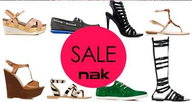Καλοκαιρινές εκπτώσεις στη Nak shoes