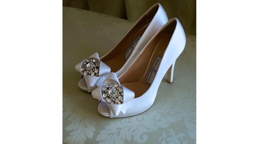 1af55d46560 Vassilis Emmanuel Zoulias νυφικά παπούτσια 2014! | fthis.gr
