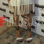 Η Ελληνίδα celebrity φόρεσε γουνάκια και κρόσια και βγήκε!