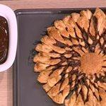 Σφολιατίνια με σοκολάτα από την Αργυρώ Μπαρμπαρίγου