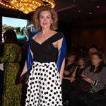Ευγενία Μανωλίδου: Η εντυπωσιακή εμφάνιση σε επίδειξη μόδας