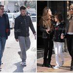 Η Ελένη Μενεγάκη και ο Γιάννης Λάτσιος συναντήθηκαν ξανά: Δείτε φωτογραφίες από την έξοδο με τα παιδιά τους