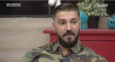Παύλος Παπαδόπουλος: Ξεκαθαρίζει αν βλέπει ερωτικά τη Ρένια Τσακίρη