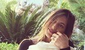 Φλορίντα Πετρουτσέλι: Η φωτογραφία από το μεσημεριανό γεύμα της κορούλας της