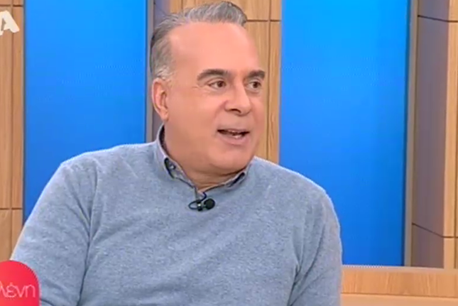 Φώτης Σεργουλόπουλος: Έτσι αντέδρασε ο γιος του όταν τον είδε πρώτη φορά στην τηλεόραση