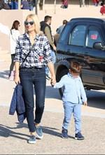 Φαίη Σκορδά: Η παρουσιάστρια του ANT1 σε νέα έξοδο με τον μικρό της γιο!