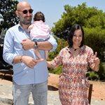 Κατερίνα Τσάβαλου – Δημήτρης Στεργίου: Η κόρη τους έγινε ενός έτους!