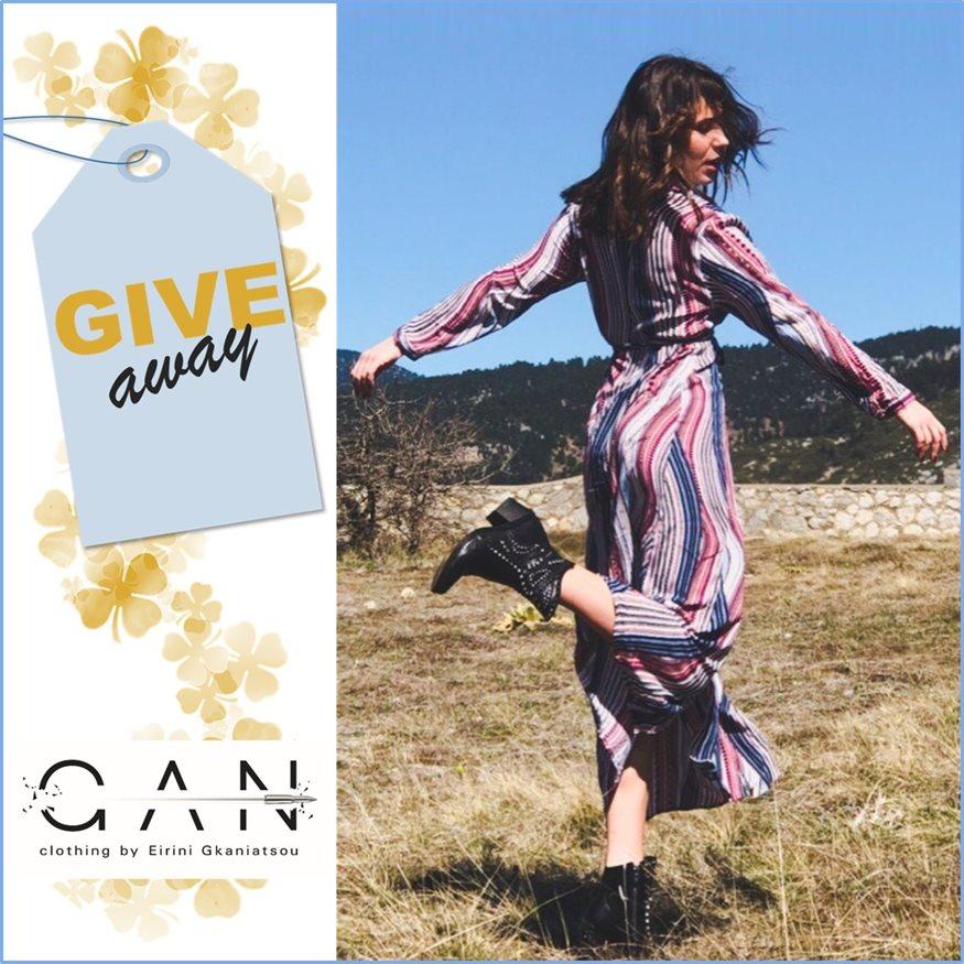INSTAGRAM ΔΙΑΓΩΝΙΣΜΟΣ – 5 τυχερές θα κερδίσουν ένα φόρεμα GAN - clothing by Eirini Ganiatsou!