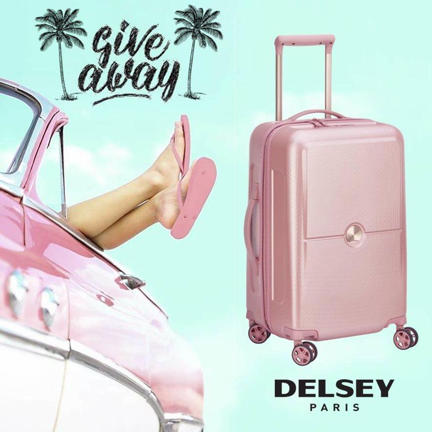 INSTAGRAM ΔΙΑΓΩΝΙΣΜΟΣ–2 τυχεροί θα κερδίσουν μια βαλίτσα DELSEY Turenne, από τα BAGSTORIES.GR!