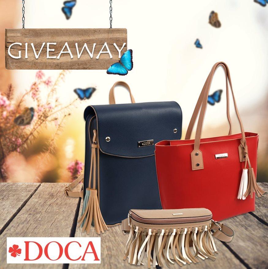 INSTAGRAM ΔΙΑΓΩΝΙΣΜΟΣ – 12 τυχεροί θα κερδίσουν μια τσάντα από τη νέα συλλογή SS19, DOCA!