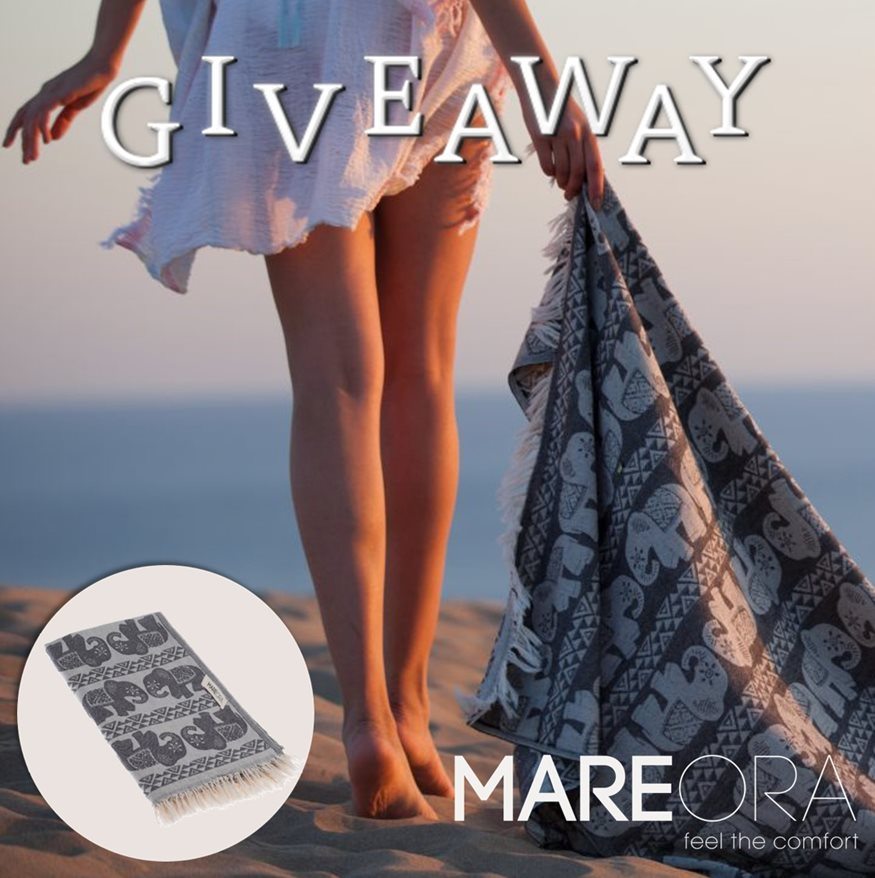 INSTAGRAM ΔΙΑΓΩΝΙΣΜΟΣ–5 τυχεροί θα κερδίσουν μια χειροποίητη πετσέτα pestemal από τη MAREORA!
