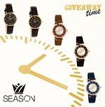INSTAGRAM ΔΙΑΓΩΝΙΣΜΟΣ – 5 τυχεροί θα κερδίσουν ένα ρολόι χειρός από τη SEASON TIME WATCHES!