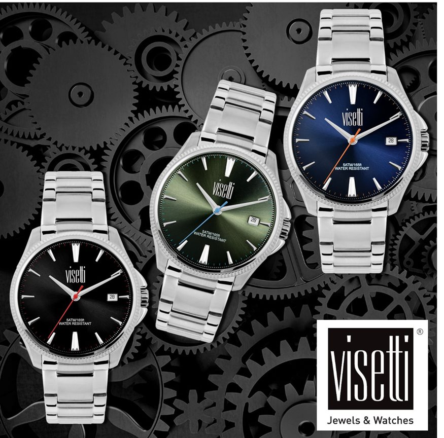 ΑΠΟΤΕΛΕΣΜΑΤΑ ΔΙΑΓΩΝΙΣΜΟΥ-5 τυχεροί κερδίζουν ένα ανδρικό ρολόι χειρός από τη VISETTI!