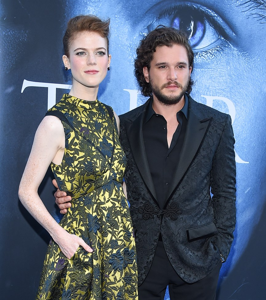 O Kit Harington και η Rose Leslie