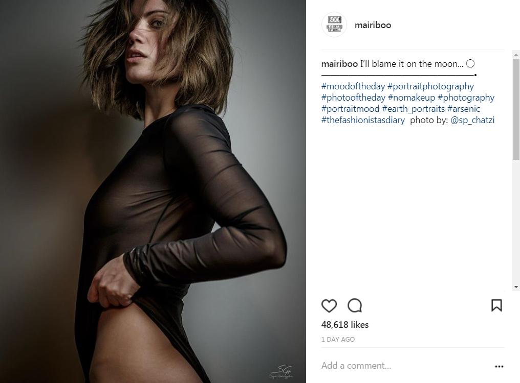404ffbabc10 Η Μαίρη Συνατσάκη ποζάρει με αποκαλυπτική διάθεση στον φωτογραφικό ...