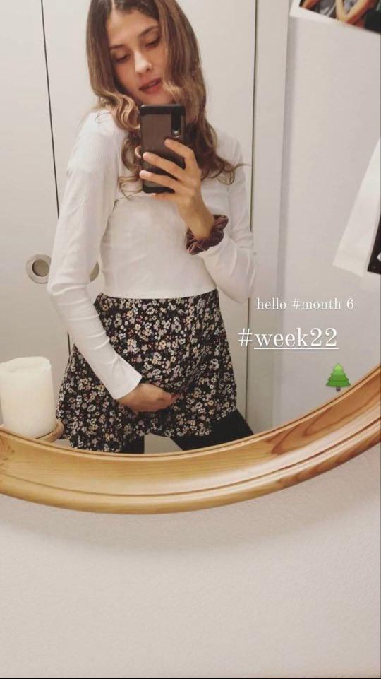 Σεράινα Καζαμία: Η πρώτη φωτογραφία του μοντέλου με φουσκωμένη κοιλίτσα