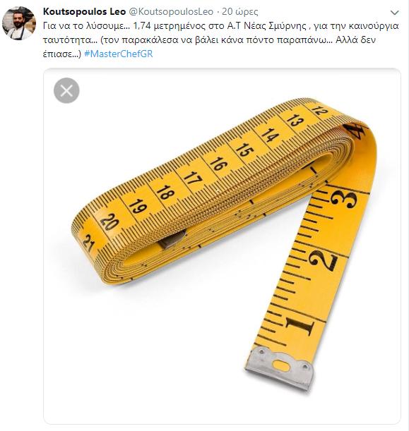 Κουτσόπουλος Ύψος