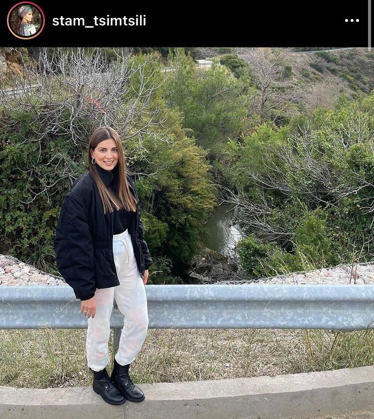"""Σταματίνα Τσιμτσιλή: Έστειλε """"Μετακίνηση 6"""" και έκανε την βόλτα της στην φύση (Φωτογραφία)"""